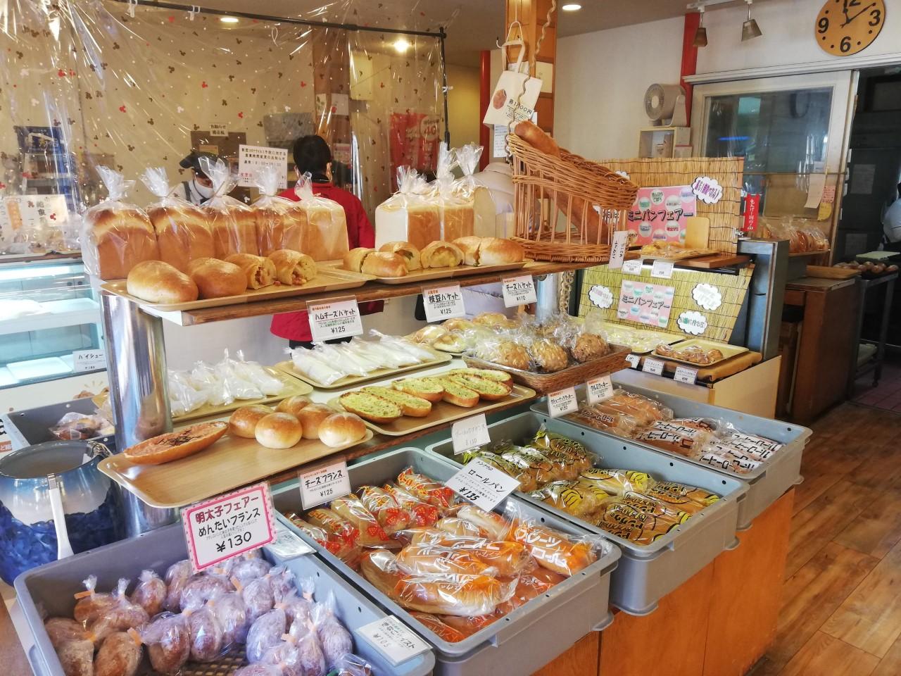 袋パン,岡山パン屋,トングウ