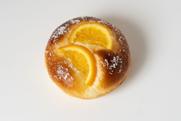 自家製オレンジカスタードクリームパン