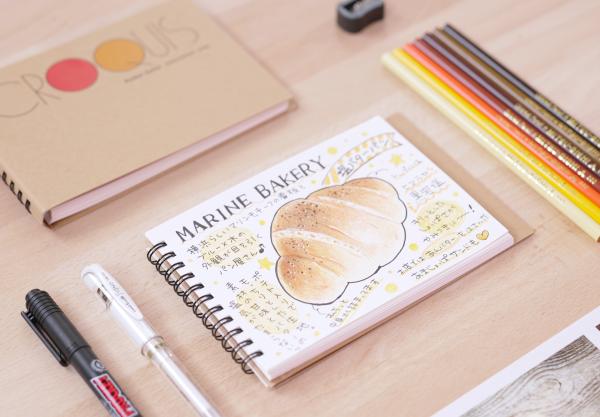 """おいしいパンを""""描ける""""楽しさを、オンラインレッスン「Lakit」で体験!"""